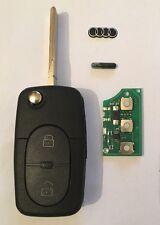 Clé Vierge ID48 + Électronique Audi A2 A3 A4 S4 A6 S6 4D0837231R 100% Testé