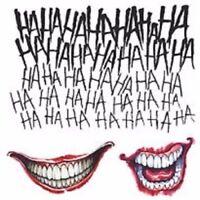 The Joker Tattoo Kit Suicide Squad Movie Temporary Costume Accessory
