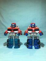 Playskool Heroes Transformers Rescue Bots Energize  And Regular Optimus Prime