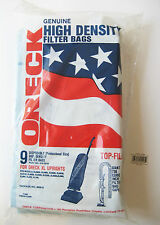 ORECK Genuine 9 High Density Filter Bags For XL Uprights 8000, 9000 & 2000