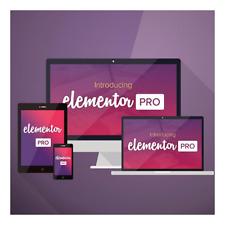 Elementor PRO WordPress Page Builder 6 mois de mise a jour gratuit