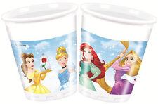 Disney Prinzessin 8 Stück Plastikbecher Kinder Geburtstag Partygeschirr