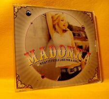 MAXI Single CD Madonna What It Feels Like For A Girl 2TR 2001 Trance, Downtempo