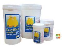 50g EasyBird Complete Pet Supplement - Daily Pet Bird Essentials All Year Use
