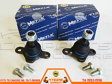 FOR VW TRANSPORTER T4 CARAVELLE 92-96 FRONT LOWER BALL JOINT MEYLE HEAVY DUTY