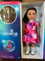 American Girl Luciana Vega Doll & Book Girl of the Year Astronaut NEW IN BOX