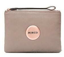 FREE POST MIMCO LOVELY MEDIUM POUCH BALSA ROSE GOLD Sheepskin LEATHER RRP99.95