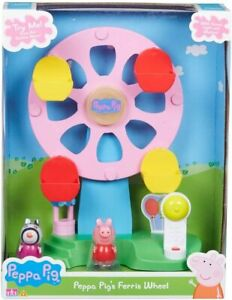 Peppa Pig Ferris Wheel with Lights and sound Includes Figures Peppa and Zoe