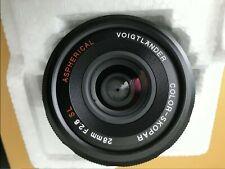 VOIGTLANDER  28mm 2.8 SLii Lens (Nikon F Mount)