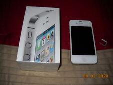 "Apple iPhone 4s - 32GB - White (Verizon) A1387 (CDMA + GSM) ""UNLOCKED""! >NICE!<"