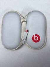 Genuine Beats By Dre Tour 2 2.0 Hard Protective Zipper Case Shell White Red CC2