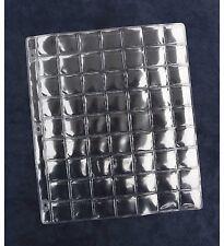 """10 Badge coin collectionneurs plastique manches 63 ESPACE Album Recharge feuilles 1"""" x 1"""""""