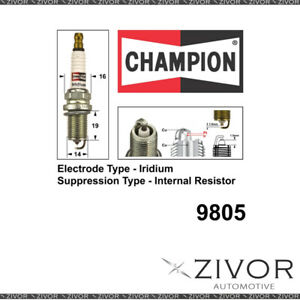 New Champion Spark Plug For MERCEDES BENZ -MPN 9805 *By Zivor*