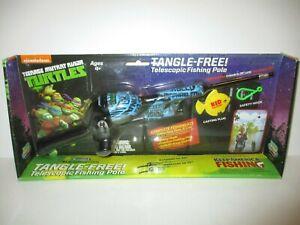 Teenage Mutant Ninja Turtles Tangle-Free Telesopic Fishing Pole
