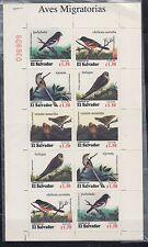 El Salvador 1996 Birds Sc 1446 X2 Full Sheet mint never hinged