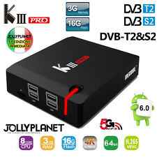 Mecool K3 Pro DVB-S2/T2 Android 7.1 3GB 16GB OctaCore 2GHz TV Box WiFi