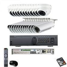 24CH 1080P HDTVI DVR 24pc AHD C(M*TVI Analog 960H 2.6MP Security Camera System s