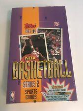 1993-1994 93-94 TOPPS SERIES 2 BASKETBALL BOX FACTORY SEALED BOX JORDAN
