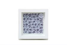 White Deep Photo Frame 4x4 #LP25170