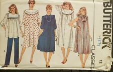 Butterick Classics pattern 4874 Misses Maternity Dress, Tunic, Pants sz 12 uncut