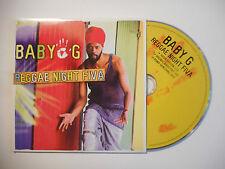 BABY G : REGGAE NIGHT FIVA ( RADIO VERSION 3'30 ) ♦ CD SINGLE PORT GRATUIT ♦