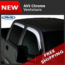 12-16 Honda CR-V AVS Chrome Window Vent Visors Deflectors Rain Guards