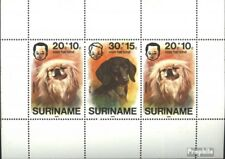 Suriname block17 (complete issue) unmounted mint / never hinged 1976 Dogs