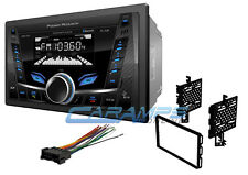 NEW POWER ACOUSTIK CAR STEREO RADIO BLUETOOTH USB/AUX INPUTS NO CD W INSTALL KIT
