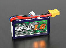 New Turnigy nano-tech 1000mAh 7.4v 2S 25C 50C Battery Lipo Pack XT60 XT-60 US