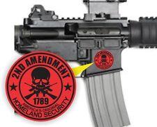 3 - AR15 Lower Decals | 2nd Amendment AR-15 Gun MAG 5.56 Magazine Stickers