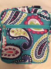 Pottery Barn Kids Teen Gear Up Classic Lunch Bag Paisley Pool Nwt