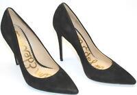 Sam Edelman F8945L8003 Women's Danna Pointed Toe Shoes Black Suede Pump US 9M