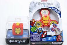 Zuru Antsy Lab Fidget Cube & Spinner Set IRON MAN IronMan NEW & Sealed