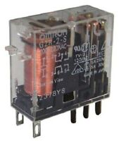 Omron G2R-2-S DC24, DPDT Non-Latching Relay Panel Mount, 24V dc Coil, 5 A - New