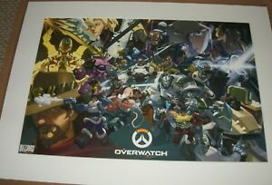 OVERWATCH Anniversary Fine Art Print--Certificate Of Authenticity--FREE SHIPPING