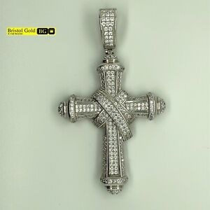 BRAND NEW 925 CRUCIFIX PENDANT Sterling Silver Fully Hallmarked - FREE P&P
