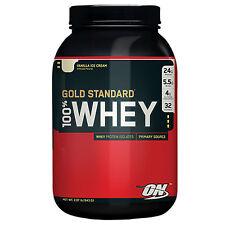 Optimum Nutrition Gold Standard 100% Whey - 2 lb Powder Vanilla Ice Cream