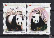 [SS] Malaysia 2015 Giant Panda Conservation STAMP SET