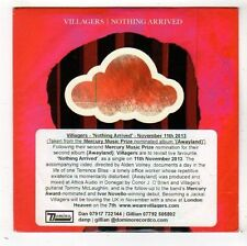 (FY160) Villagers, Nothing Arrived - 2013 DJ CD