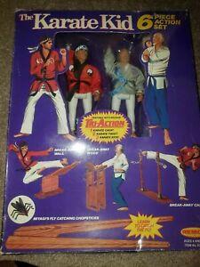 1986 Remco Karate Kid RARE 6 PIECE SET