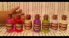 $⬇️ AMERICAN GIRL DOLL SIZE LOT 7 POTION BOTTLES FOR HARRY POTTER FANS XMAS GIFT