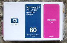 HP 80 Tinte  C4874A Magenta DesignJet 1050c / DesignJet 1055cm