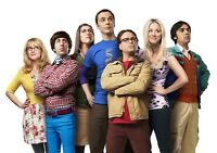 The Big Bang Theory TV Show Foto Stampa Poster Serie Sheldon Cooper Stagione 002