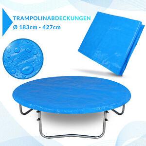 Bâche pour trampoline en PE - Housse de protection de 244cm - 426cm au choix