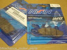 kit pastiglie NISSIN anteriori + posteriori Triumph Scrambler Thruxton 865 900
