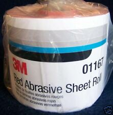 3M Red 1682 Stick It Adhesive Back Continuous Sheet Roll Sandpaper 320 Grit