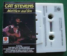 Cat Stevens Matthew & Son inc I Love My Dog + Cassette Tape - TESTED
