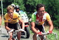 GREG LEMOND & BERNARD HINAULT TEAM LA VIE CLAIRE TOUR DE FRANCE 1986 POSTER