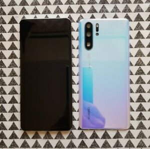 Genuine PEARL WHITE Huawei P30 Pro VOG-L09 LCD DISPLAY TOUCH SCREEN AMOLED Frame