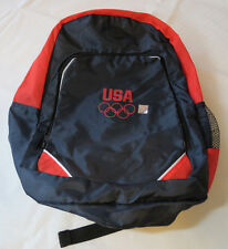 USA Olympic Promotional Products navy blue backpack back pack bag light weight